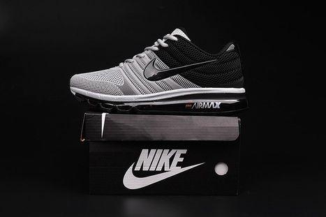 Nike Air Max 2017 Men Grey Black Shoes [airmax-108] - $65.99 : | nikeshoes | Scoop.it