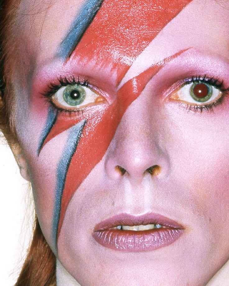 Bowie - Halloween Make-up inspiration