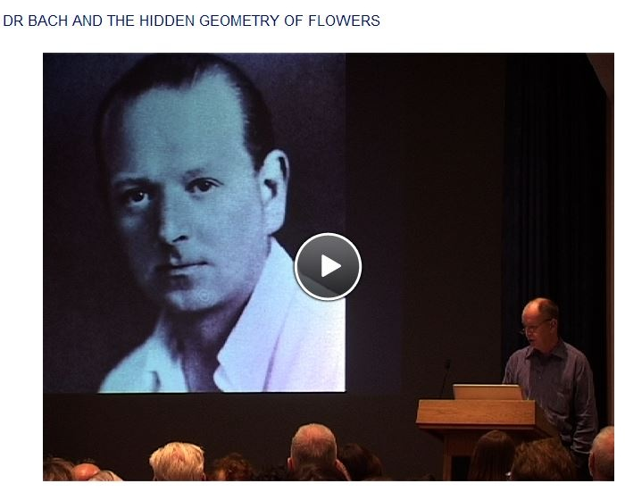 Dr. Edward Bach and the hidden geometry of flowers, a video, that can be watched here: http://bacheducationalresource.org/r/d/319/dr-bach-and-the-hidden-geometry-of-flowers  #Edward_Bach #Flower_remedies #Geometry