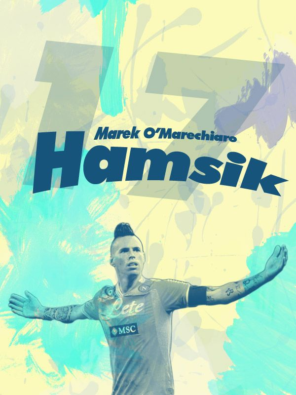 Marek Hamšík (born 27 July 1987) is a Slovak footballer who plays as a midfielder for Serie A club Napoli and the Slovakia national team. He captained Slovakia at the 2010 FIFA World Cup, its first ever major tournament as an independent nation. Marek Hamšík ([ˈmarɛk ˈɦamʃiːk]; Banská Bystrica, 27 luglio 1987) è un calciatore slovacco, centrocampista del Napoli e della Nazionale slovacca, della quale è capitano.