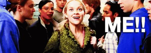 ME! - Legally Blonde GIF - Me LegallyBlonde ElleWoods - Discover & Share GIFs