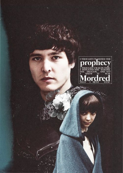 Nonononono. It's Arthur who will be the death of Arthur. It's Arthur's arrogant choices that eventually brought about it all. Cause frankly, I don't think Mordred was all that wrong in fighting against Arthur.