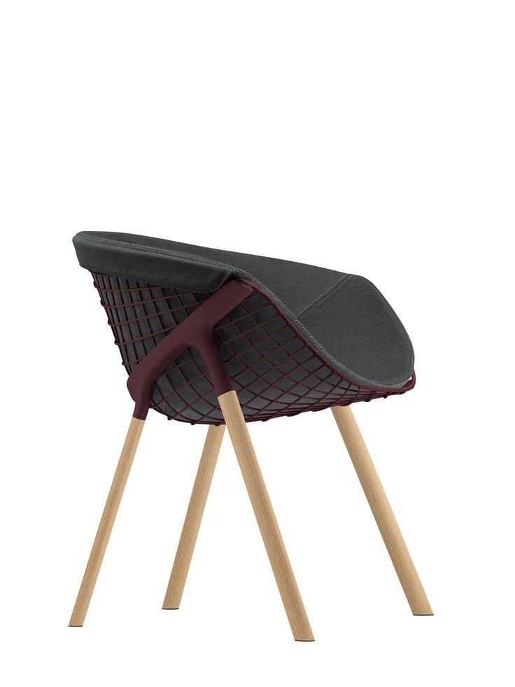 Kobi Wood Chair by Alias