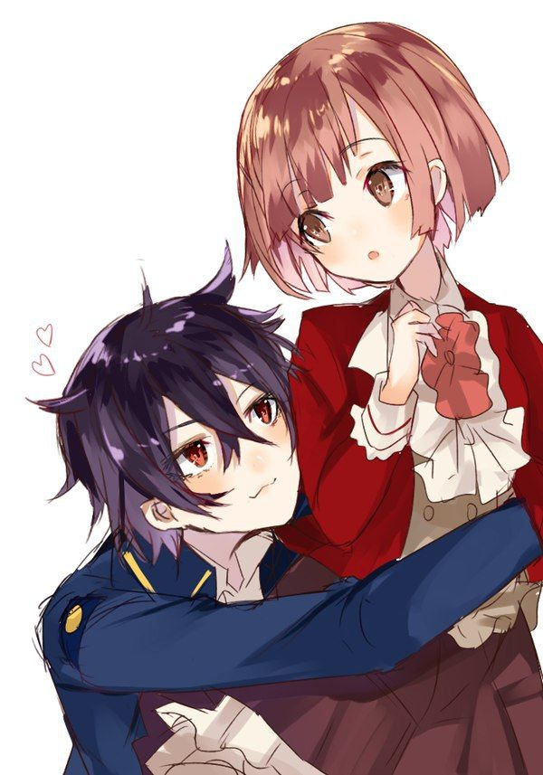 Wallpaper Of Boy And Girl Kiss Dance With Devils Ritsuka X Shiki Anime ☆ ☆ Dance With