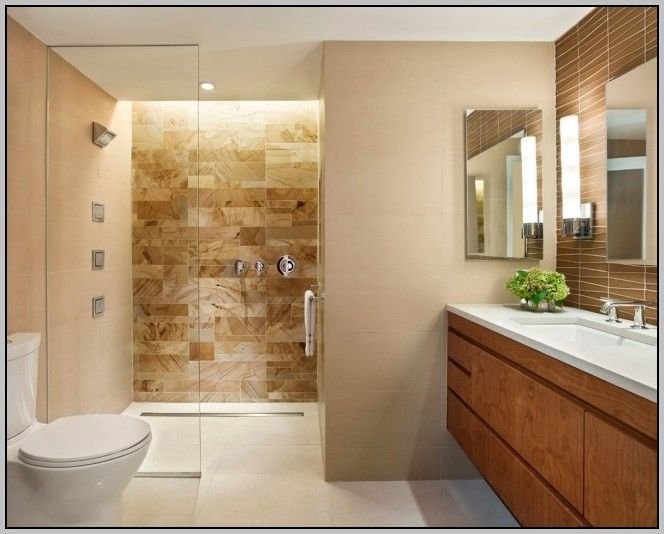 48 besten Wohnen Bilder auf Pinterest Dachgeschoss Badezimmer - badezimmer braun wei modern