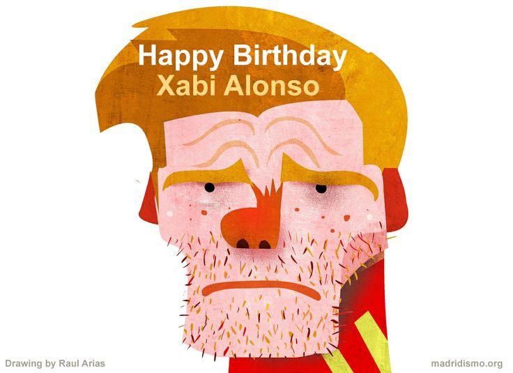 Happy Birthday Xabi Alonso.