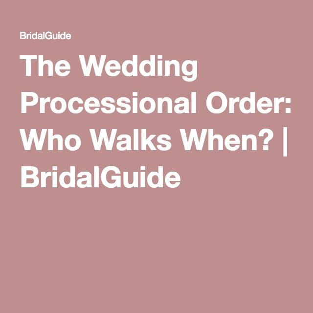 The 25 best wedding processional order ideas on pinterest order the wedding processional order who walks when junglespirit Image collections