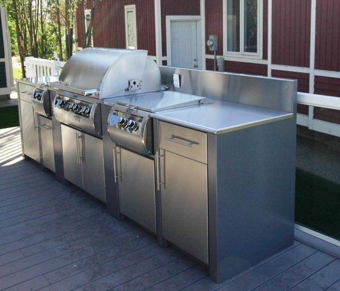 Stainless Steel Outdoor Kitchen Outdoor Kitchen Island Outdoor
