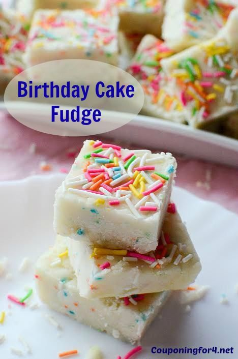 If you're riding the Birthday Cake bandwagon (like me!), you're going to love this Birthday Cake Fudge recipe! It's extremely easy, will take you only minutes to make and everyone is ...