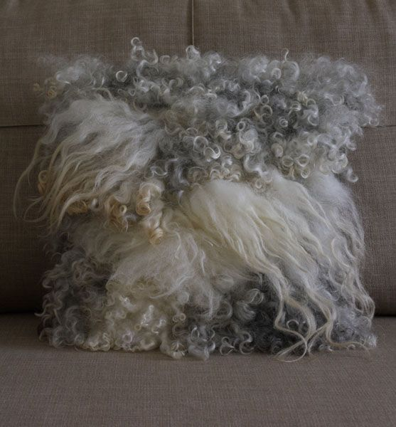 raw fleece felt