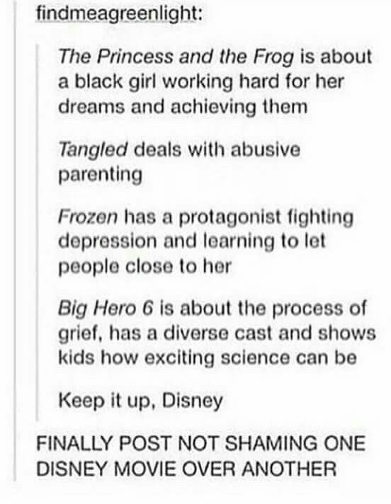 Disney movies with good messages