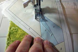 Tutorial: Foundation Paper Piecing (Freezer Paper Method) - Easier than it looks.