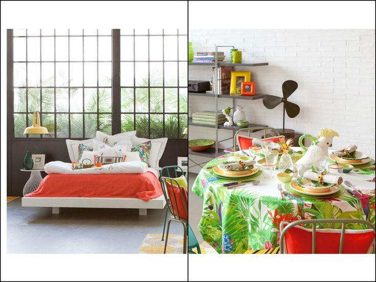 Zara home tropical deco tropic decoration pinterest for Deco zara home