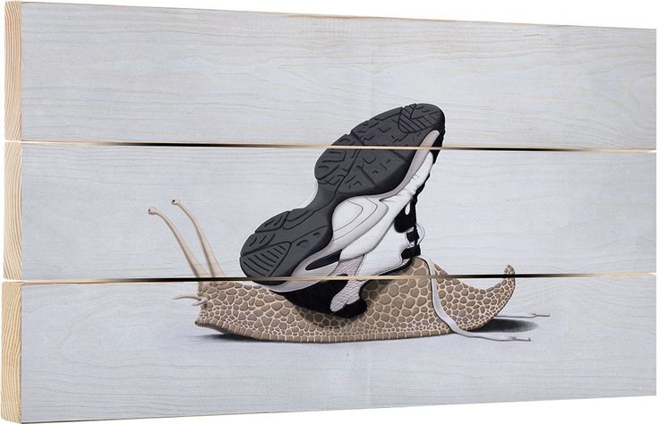 The Sneaker art | decor | wall art | inspiration | animals | home decor | idea | humor | gifts