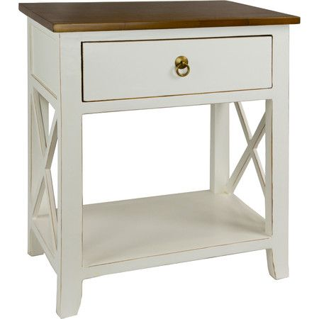 andrea nightstand in white at joss and main