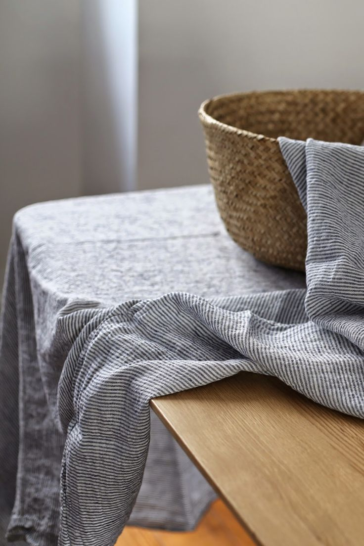 Nappe en lin Linge particulier by LINEN AND MILK
