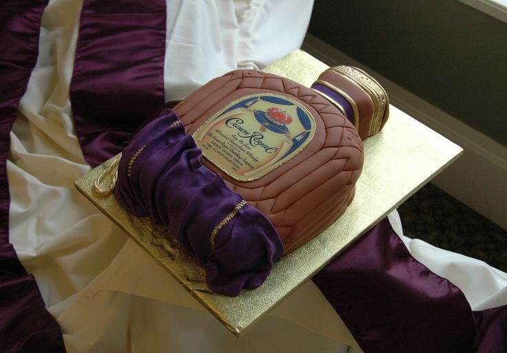 images of grooms cakes | Fun & Unique Groom's Cakes Crown Royal Groom's Cake – A Touch of ...
