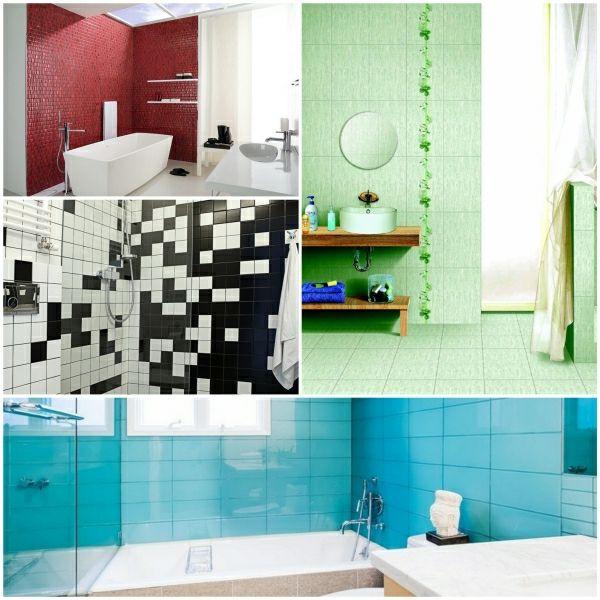 Badezimmer Fliesen Ideen Streichen Fliesenfarbe