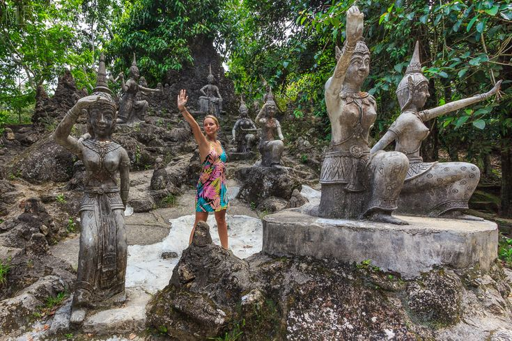 Secret Buddha garden Koh Samui
