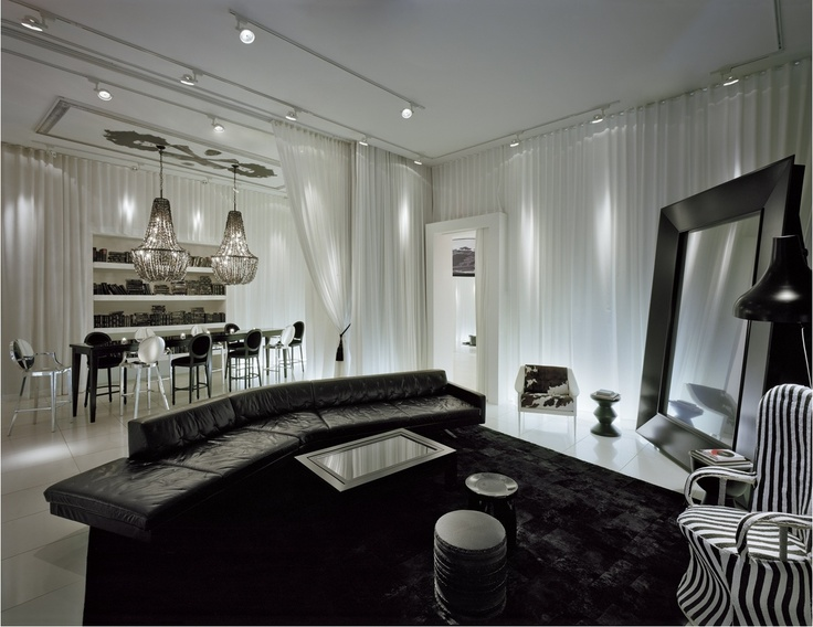 Philippe starck interior design philippe starck for Philippe starck interior designs