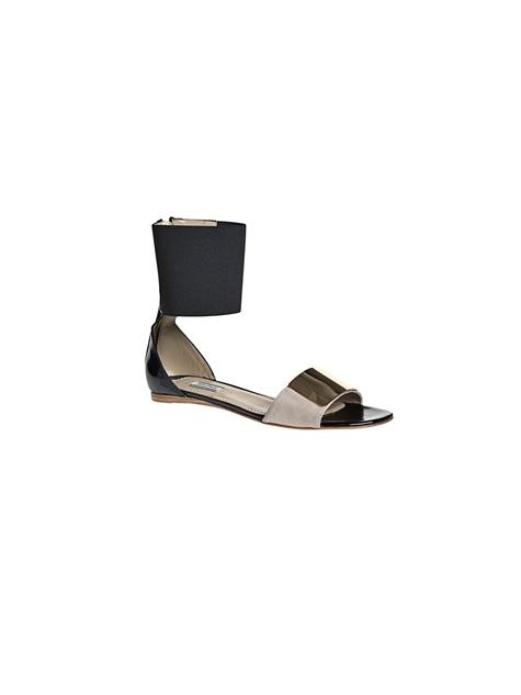 By Malene Birger Cerniera Patent Sandal