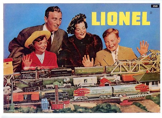 Vintage Lionel Train Catalog  Antiques antique Toy toys trains Vintage Retro Advertising Pawn stars American pickers