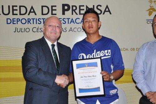 Promesa del beisbol mexicano fue bachiller de la UAS