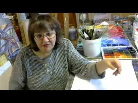 Уроки живописи: рисовать легко! День 5. Наталья Баженова - YouTube