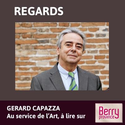 Découvrez le portrait de Gérard Capazza. Un homme au service de l'Art et à le tête d'une splendide galerie ! - Avril 2013 - Cliquez sur l'image pour lire le portrait.