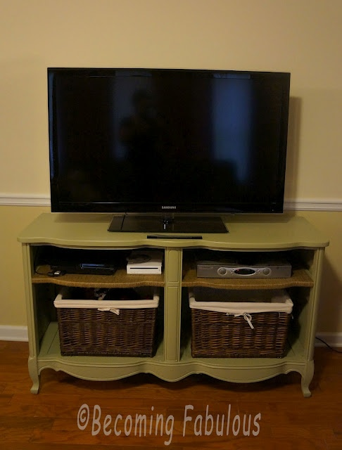 """Becoming Fabulous"": Trash to Treasure: Trash To Treasure, Decor Ideas, Old Dressers, Tv Consoles, Media Cabinets, Become Fabulous, Media Consoles, Diy Projects, Entertainment Centers"