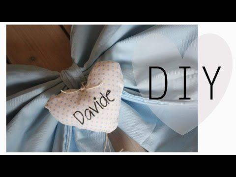 Fiocco nascita Bambino/a - Birth Fabric Bows - YouTube