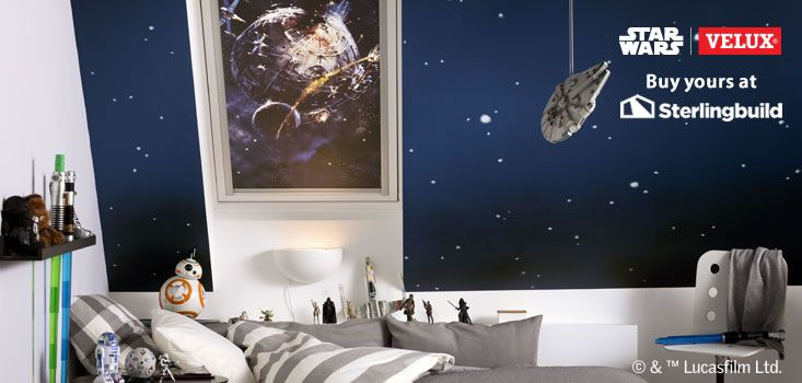 Star Wars & VELUX Galactic Night Collection at Sterlingbuild: 4711 The Death Star http://ow.ly/VXIMx