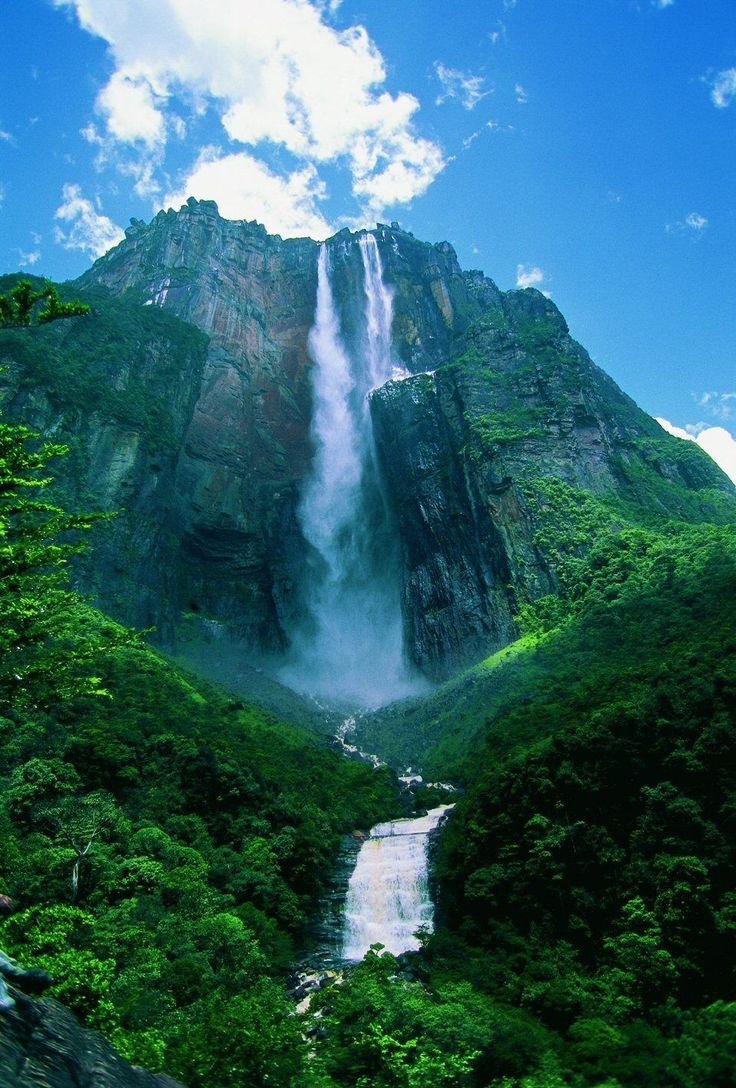 Stunning Angel Falls in Venezuela