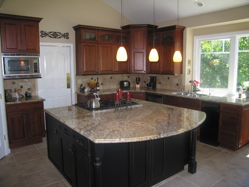 Yellow Moon Granite Kitchens Pinterest Photos