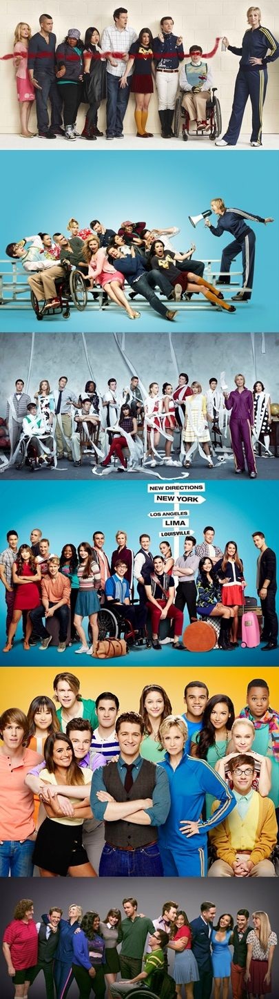Season 1, 2, 3, 4, 5 and 6 Glee is so special to me that nobody will ever understand, its brought more happiness then anything else ever has in my life!