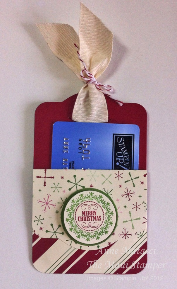 Two Tags gift card holder