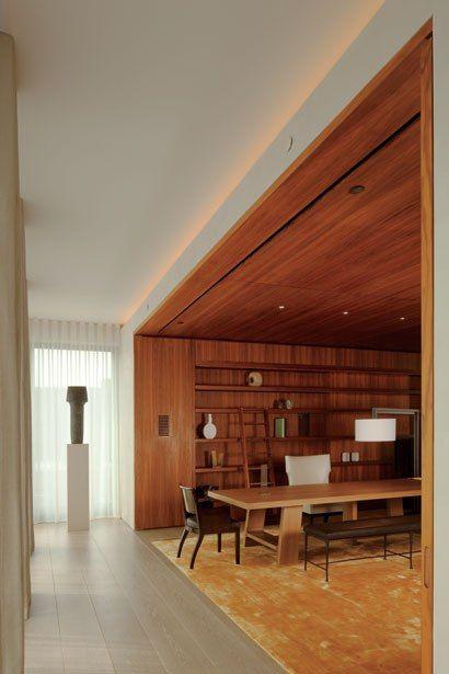 Herzog and de Meuron  Ian Schrager's Apartment, 40 Bond