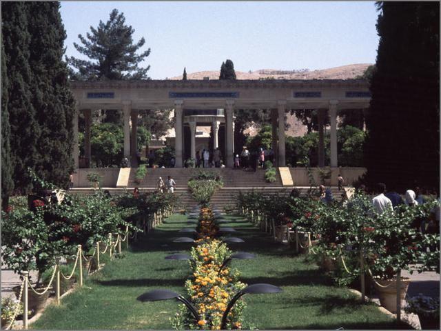 Hafez Mausoleum 2005 (Shiraz, Iran)