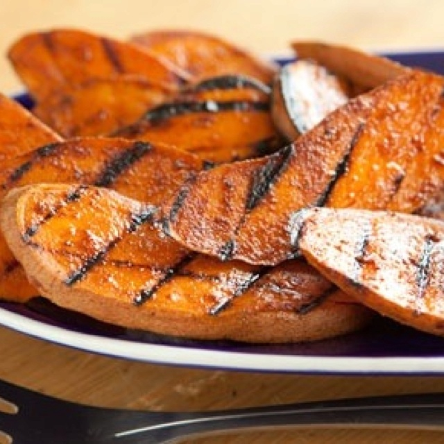 Grilled sweet potatoes | Recipes and Food Tips to try. | Pinterest