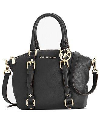 MICHAEL Micheal Kors Handbag, Bedford Small Satchel - Shop All - Handbags & Accessories - Macy's - #womensfashion, #clothing, #women