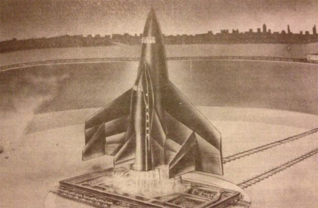operation paperclip | Operation Paperclip Nazi Walter Dornberger's 'Ultra Planes ...