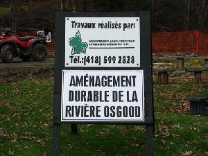 Aménagement durable de la Rivière Osgood