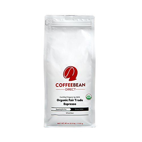 Coffee Bean Direct Organic Fair Trade Espresso 25 Pound * Want to know more, click on the affiliate link Amazon.com.