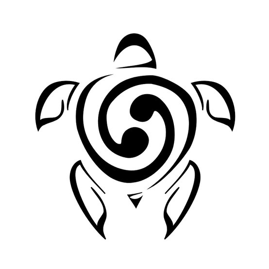 MY TATTOO!!! Turtle tat with Cancer sign shell.... I so want this now