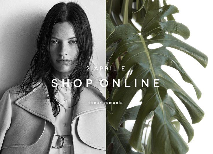 #dear_romania ZARA Shop Online. 2 aprilie