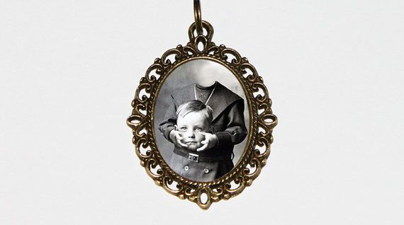 Headless Boy Necklace Illusion Trick Photography by TheGoblinCave