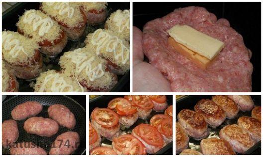 Котлетки под шубкой  Ингредиенты:  Фарш (из индейки) - 1 кг Яйцо куриное - 2 шт Батон (белый, без корочки) - 0, 5 шт Майонез (для фарша + немного для по... - Лена Л - Google+