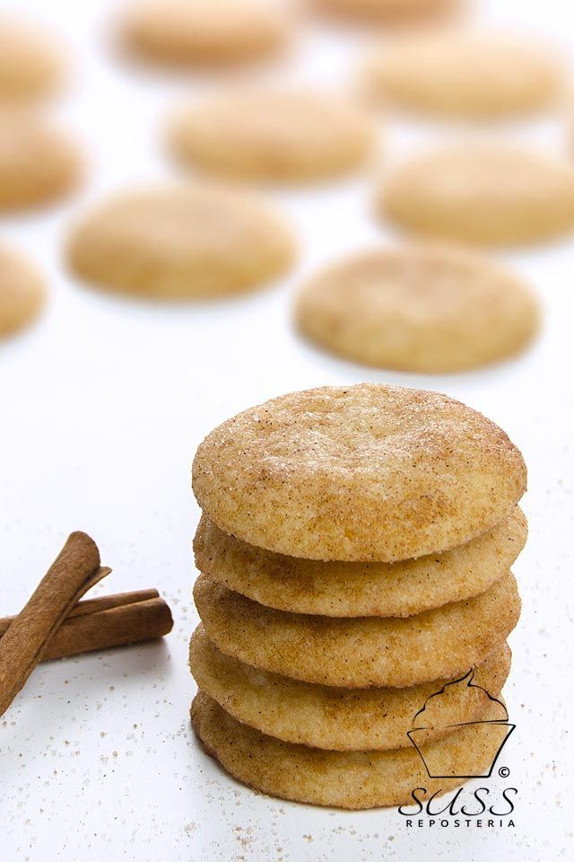 Galletas Snickerdoodle.