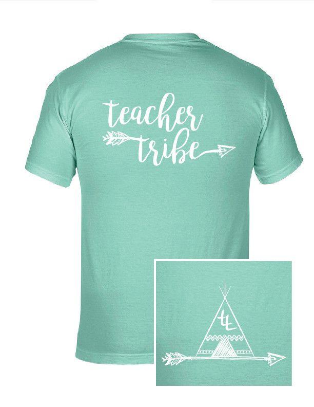 Teacher Tribe Teepee T-Shirt Teacher shirts, team shirts, grade level shirts, staff shirts