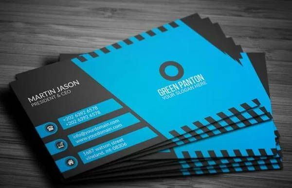 14 Elegant Business Card Templates Pages Word Ai Free